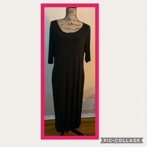 🌺2 for$8🌺Metaphor Black Maxi Dress